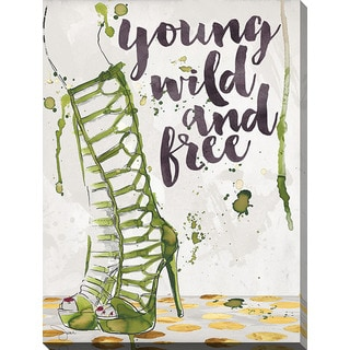 BY Jodi 'Wild And Free' Giclee Print Canvas Wall Art