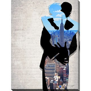 BY Jodi 'Nyc Date Night' Giclee Print Canvas Wall Art