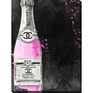 BY Jodi 'Chanel Champagne' Giclee Print Canvas Wall Art