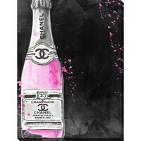 BY Jodi 'Chanel Champagne' Giclee Print Canvas Wall Art