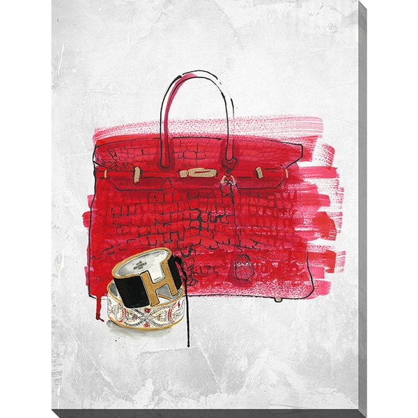 BY Jodi 'Purse 1' Giclee Print Canvas Wall Art