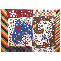 Hand-tufted Hans Andersen Home Adame Multicolored Wool Rug (4'7 x 6'7)