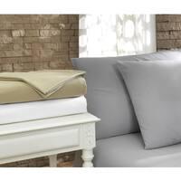 Pamuk Luxury Solid 300 Thread Count Turkish Cotton 4-piece Sheet Set