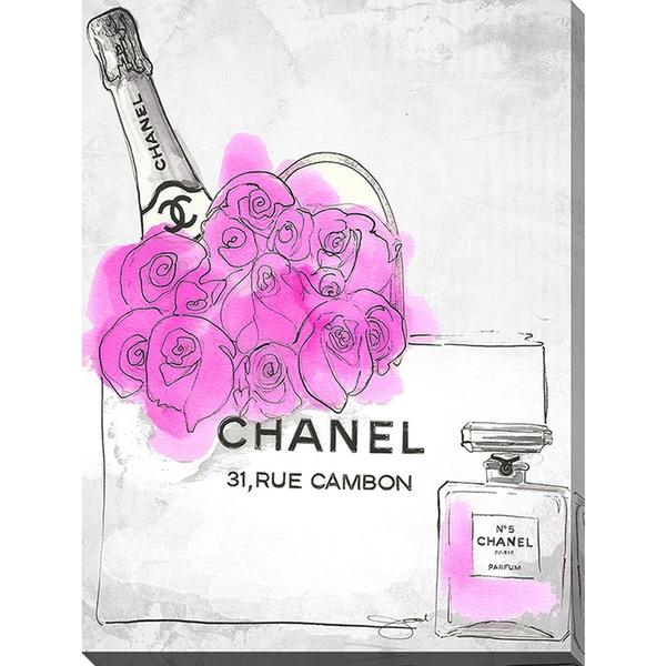 BY Jodi U0026#x27;Presents By Chanelu0026#x27; Giclee Print Canvas Wall