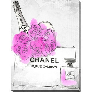 BY Jodi 'Presents By Chanel' Giclee Print Canvas Wall Art