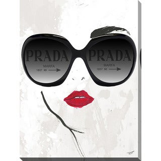 BY Jodi 'Prada Glasses' Giclee Print Canvas Wall Art