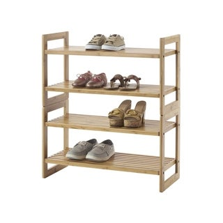 Link to TRINITY Bamboo Shoe Rack (Pack of 2) Similar Items in Storage & Organization