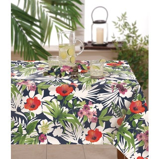 Tommy Bahama Bernini Floral Indoor / Outdoor Table Cloth