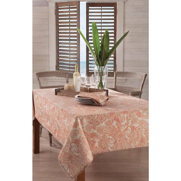 Tommy Bahama East India Paisley Tablecloth