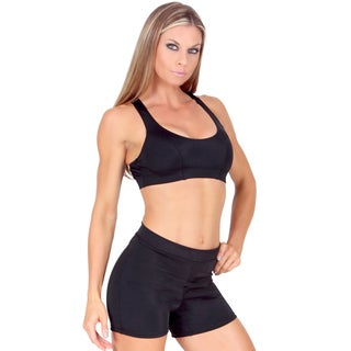 Instantfigure Compression Racer Back Crop Top