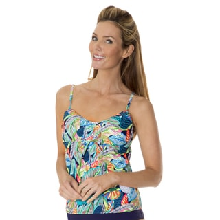 Leaf Play Women's Tankini by Mazu Swim