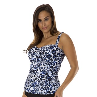Mazu Swim Basic Instinct Women's Plus Tankini