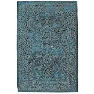 Ecarpetgallery Sapphire Blue Rug (4'11 x 7'7)