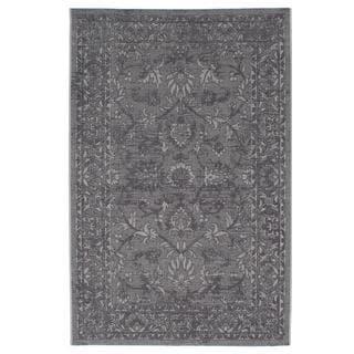 Ecarpetgallery Sapphire Grey Rug (4'11 x 7'7)