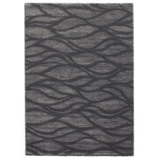 Ecarpetgallery Abstract Grey Rug (7'10 x 10')