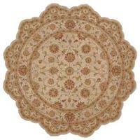 Nourison Heritage Hall Ivory Rug (6' Freeform) - 6'