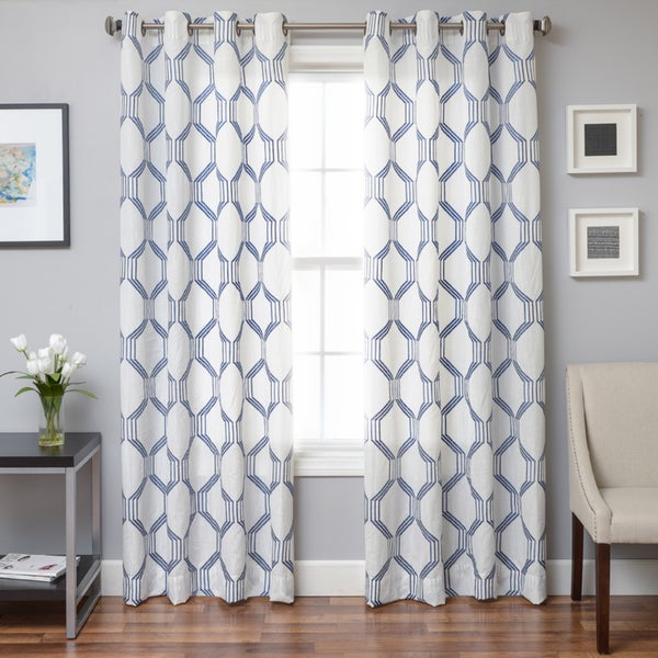 Draper Grommet Top Curtain Panel Free Shipping Today