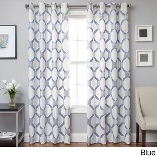 Softline Draper Grommet Top Curtain Panel