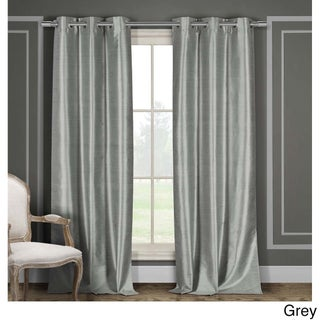 Duck River Faux Silk Thermal-Insulated Blackout Window Curtain Panel Pair (Set of 2) (2 options available)