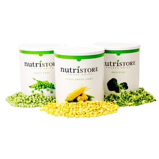 Nutristore Freeze-dried Veggie 120 Serving Sample Pack