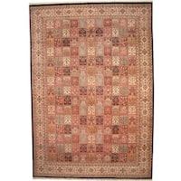 Herat Oriental Persian Hand-knotted 1960s Semi-antique Kerman Wool Rug (12' x 17'5)