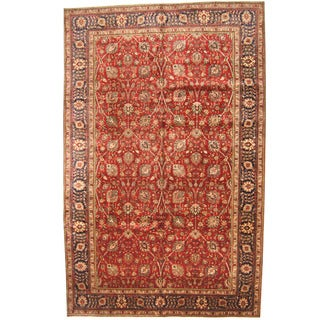 Handmade One-of-a-Kind Tabriz Wool Rug (Iran) - 10' x 15'8