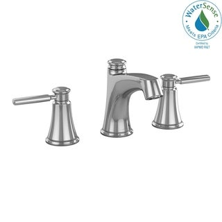 Link to Toto Keane Two Handle Widespread 1.5 GPM Bathroom Sink Faucet, Brushed Nickel (TL211DD#CP) Similar Items in Faucets