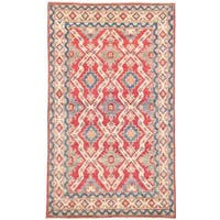 Ecarpetgallery Hand-knotted Finest Gazni Red Wool Rug (5'8 x 9'5)
