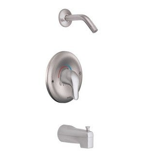 Moen Chateau Tub and Shower Faucet TL183NHBC Brushed Chrome