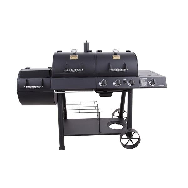 Oklahoma Joe S Charcoal And Gas Grill Smoker Combo Free Shipping Today 11484935