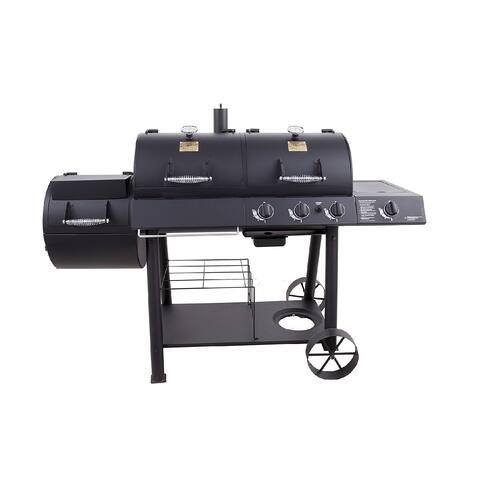 Oklahoma Joe's Charcoal and Gas Grill and Smoker Combo