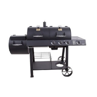 Oklahoma Joe's Charcoal and Gas Grill and Smoker Combo