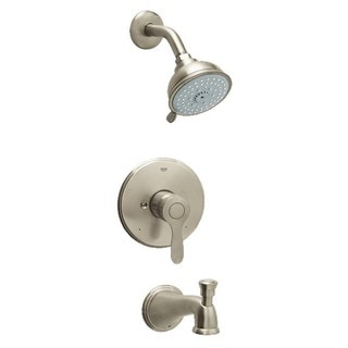 Grohe Parkfield Tub and Shower Faucet 35040EN0 Infiniti Brushed Nickel