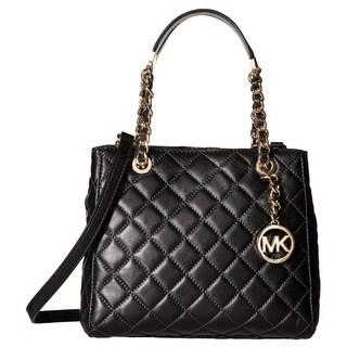 Michael Kors Susannah Black Small North/South Tote Handbag