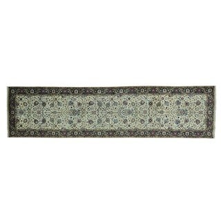 Wide Gallery Tabriz New Zealand Wool Hand-knotted Runner Rug (4'1 x 16'2)