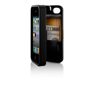 eyn protective case with storage for iPhone 4/4s (Option: Polycarbonate)