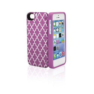 eyn protective case with storage for iPhone 5/5s (Option: Polycarbonate)