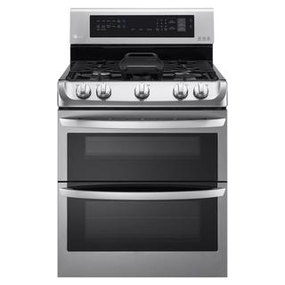 LG 30-inch Freestanding Double Oven 18,500-BTU Gas Range