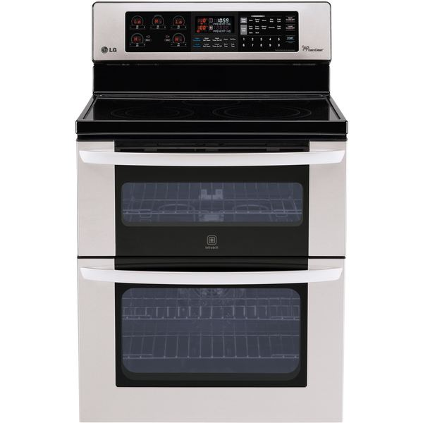 LG 30-inch Freestanding Electric Double-Oven Range - Free Shipping Today - Overstock.com - 18439614