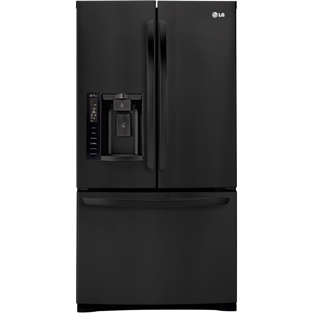 LG 36-inch 27.6-cubic-foot French Door Refrigerator (Smoo...