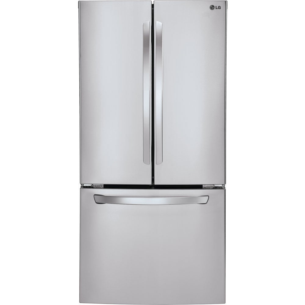 LG 33-inch 21.6-cubic-foot French Door Refrigerator (Stai...
