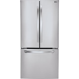 LG  33-inch 21.6-cubic-foot French Door Refrigerator (Stainless Steel)
