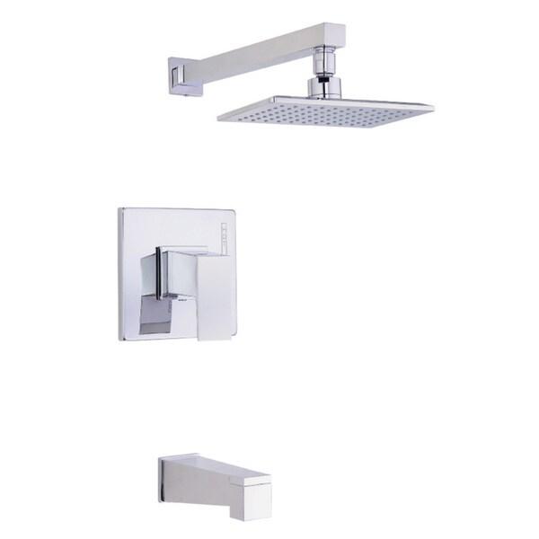 Danze Mid-town Tub and Shower Trim Kit D500062T - Chrome - Free ...