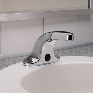 American Standard Selectronic Centerset Bathroom Faucet 6056.202.002 Polished Chrome