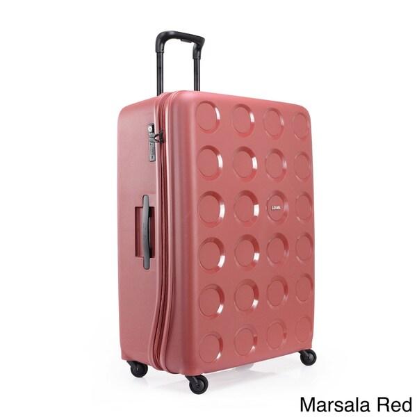 Lojel Vita 31.5-inch Large Hardside Upright Spinner Suitcase ...