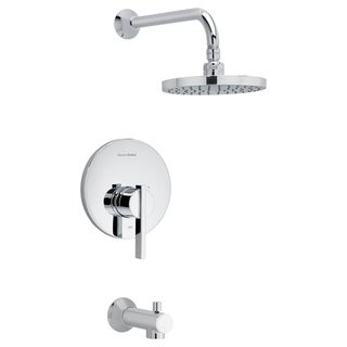 American Standard Berwick Tub and Shower Faucet T430.502.002 Polished Chrome