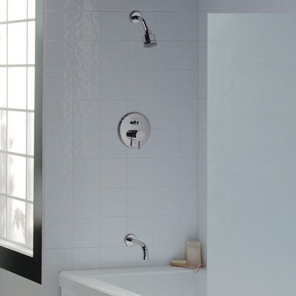 American Standard Serin Tub and Shower Faucet T064.602.002 Polished ...