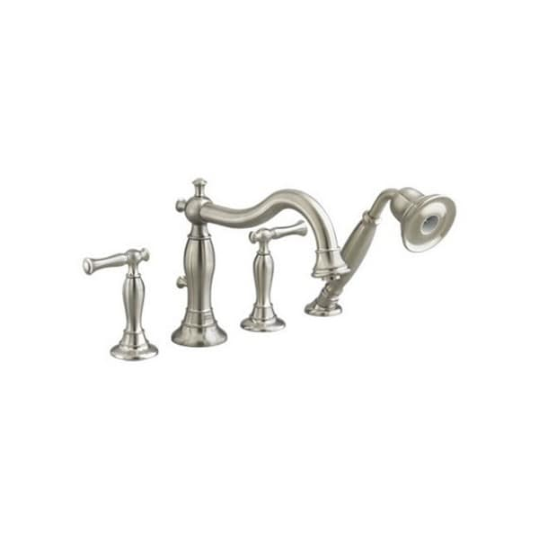 American Standard Quentin Tub Faucet 7440.901.295 Satin Nickel ...