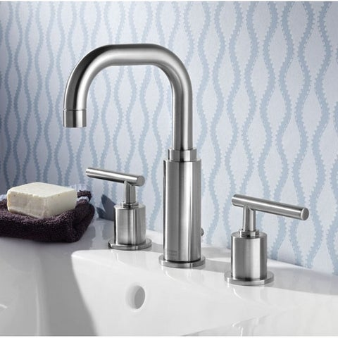 American Standard Serin Widespread Bathroom Faucet 2064.831.002 Polished Chrome