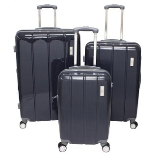 American Green Travel Lightweight Hardside Spinner Upright 3-Piece Luggage Set
